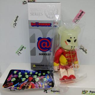 Bearbrick Series 30 Horror Kamen Joshi figure (GID)