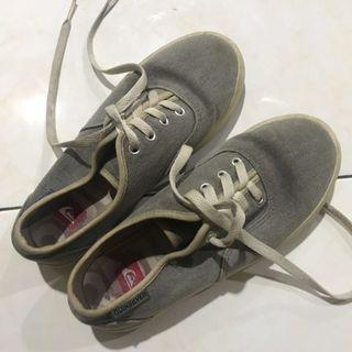 Quicksilver Grey Shoes
