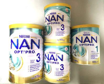 Nan Optipro Stage1 and stage3