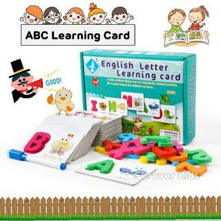 現貨‼現貨‼ 🐝 English Letter Learning card📚