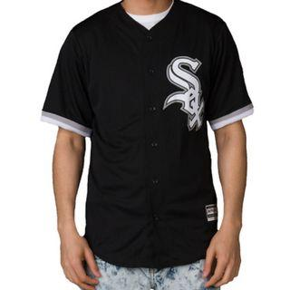 MLB Chicago White Sox Baseball Black Jersey
