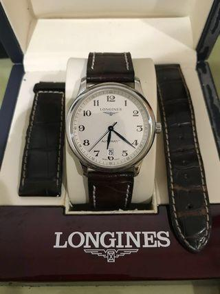 Full Set Longines Master Collection watch jam tangan original NEGO