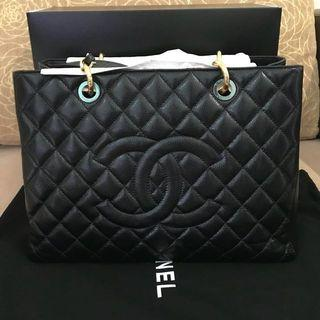 Brand new Authentic Chanel GST Gold Hardware