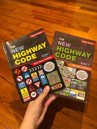 New Highway Code Driving Theory Book 1&2