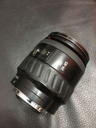 特價品 Sony A 接口直上 Minolta AF 24-85mm 廣角隨身鏡