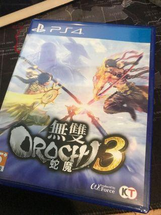 PS4 無雙大蛇3