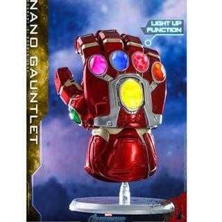 最後一個 HOTTOYS COSBABY nano gauntlet 納米手套 Iron man Ironman 發光