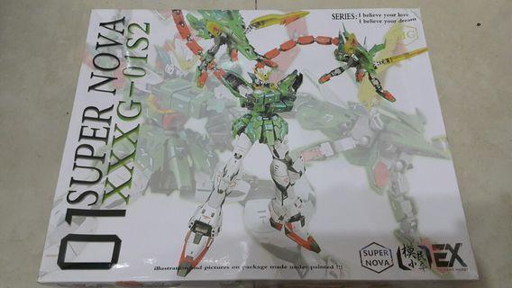 高達模型 MG XXXG-01S2 綠雙龍