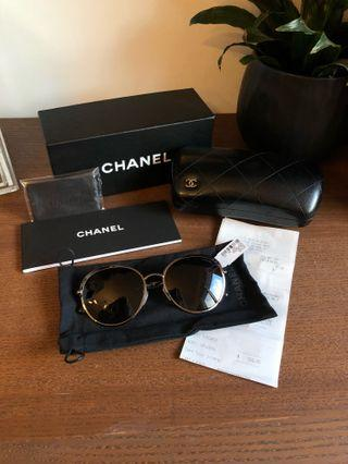 Chanel Round Sunglasses (new with tags)