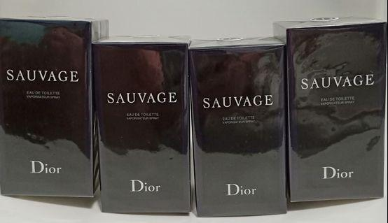 2PCS @$160 Dior Salvage 100ml