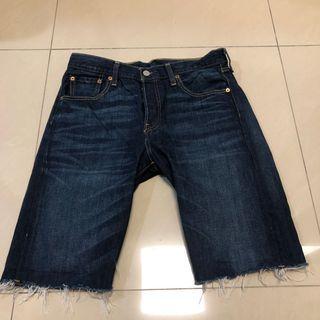 🚚 Levi's 501 牛仔短褲