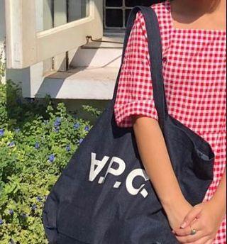 APC Daniel Logo Tote Bag (Large)