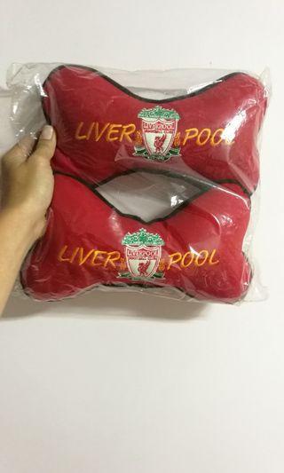 Liverpool car headrest cushions