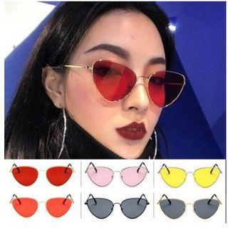 Kacamata warna warni - kuning - hits