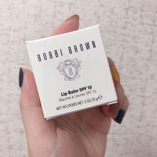 全新 新光三越 正貨 Bobbi Brown 波心防曬護唇膏SPF15 Lip Balm