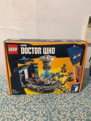 lego bbc doctor who