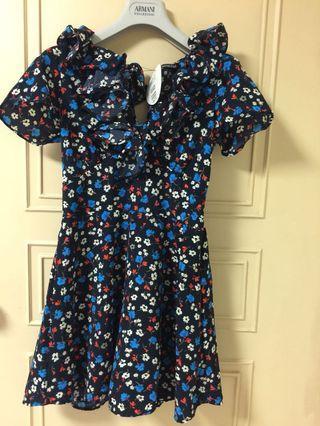 日系花點洋裝