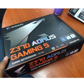 Gigabyte Z370 Aorus Gaming 5 + DW1820A terbaik untuk Hackintosh