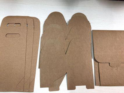 7隻 烘焙 牛皮紙 包裝盒
