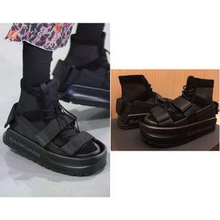 🚚 SANKUANZ Structured platform sneakers size 40 鞋中鞋 可分開穿 全新 正品