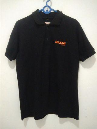 Polo Shirt ban sport Maxxis hitam