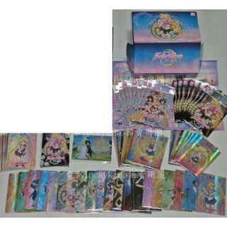 【美少女戰士 幻之水晶卡 全套 80張 珍藏盒 卡套 卡包 卡片】PR-001 SR-008 公主 收藏卡 SR卡 普卡