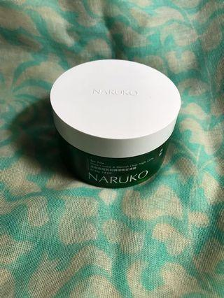 Naruko Tea Trea Shine Control & Blemish Clear Night Gelly