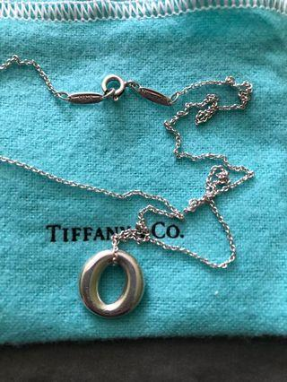 Tiffany Elsa Peretti Sevillana Charm Necklace