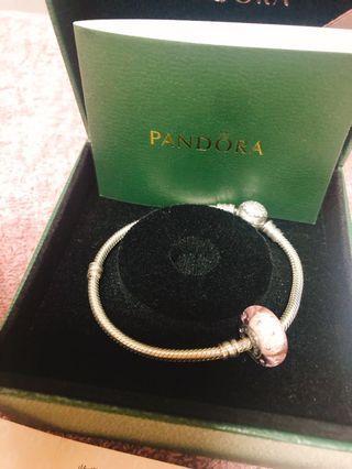 🚚 Pandora 潘朵拉 鍊子❗️購證 小卡 盒子 紙袋 皆還在