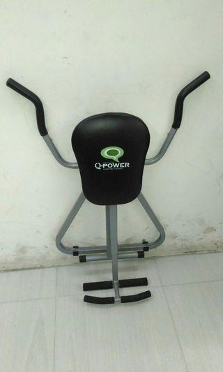 🚚 q-power全方位搖擺健腹椅