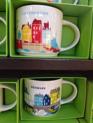 Starbucks 丹麥哥本哈根 手信 收藏 收集 星巴克杯 Mugs Denmark Copenhagen travel souvenir
