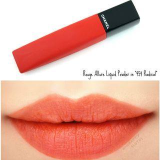 香奈兒 Chanel Rouge Allure Liquid Powder #954 Radical 啞緻柔霧唇釉 全新連盒