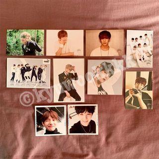 BTS Official Korea / Japan Photoset / Postcard