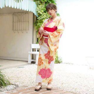 Kimono 和服 Yukata 100% NEW (SET)