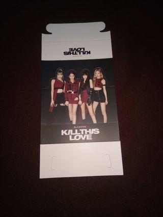 [WTS] Blackpink kill this love preorder gift