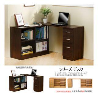L型書桌櫃/辦公桌/書桌/電腦桌