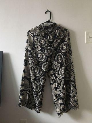 Authentic elephant pants from Thailand