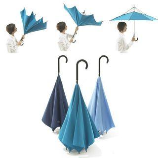 Reverse Inside Out umbrella, Inverted double layer