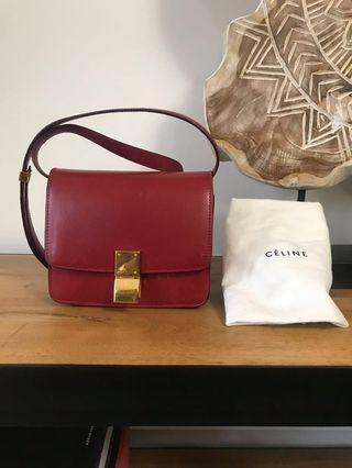 Authentic Celine Classic Small Box Bag