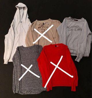 women's jumpers bundle