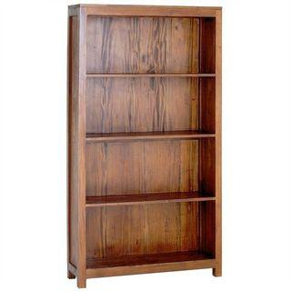SOLID Teak Bookcase Wide AM Free Delivery New EXTRA%OFF