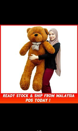 140cm/1.4 Meter Giant Teddy Bear Plush Toys Doll Valentine Gift Teddy