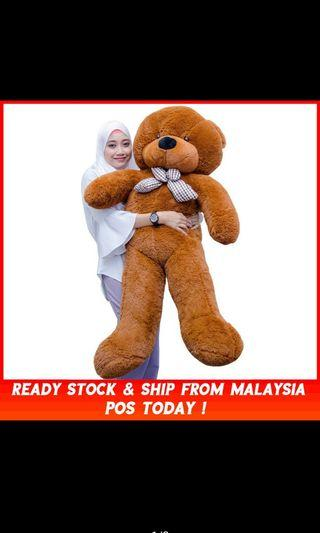 160cm / 1.6 Meter Giant Teddy Bear Plush Toys Doll Birthday Gift Valentine