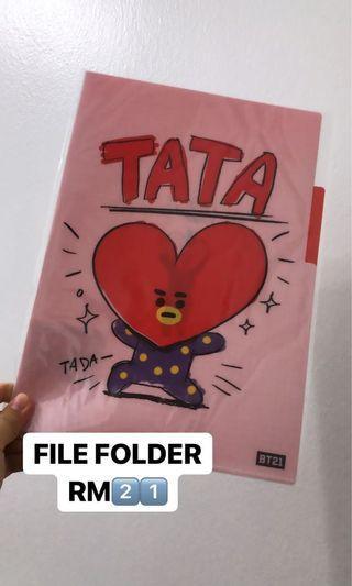BT21 Tata file folder