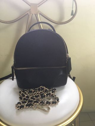 993a02f2f5e7 leather bagpack | Bags & Wallets | Carousell Philippines