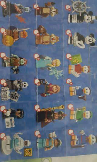 Lego 71024 迪士尼人仔 18隻一套