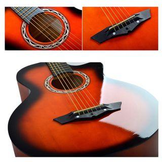 🚚 Acoustic Guitar with free gifts
