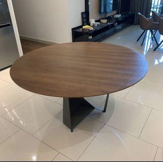 Round Dining Table Big