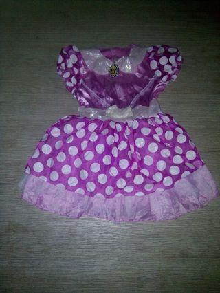 Minnie mouse 3-4 yrs old