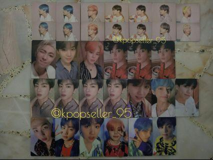 [WTS] BTS MAP OF THE SOUL PERSONA PHOTOCARDS + POSTCARDS + PHOTOFILM + ROLLED POSTERS + UNSEALED ALBUM
